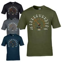Speedometer 1975 45th Birthday T-Shirt - Funny Feels Age Year Present Mens Gift