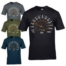 Speedometer 1995 25th Birthday T-Shirt - Funny Feels Age Year Present Mens Gift
