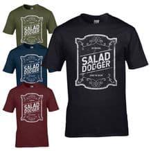 The Original Salad Dodger T-Shirt - Living The Dream Tee Joke Mens Gift Top