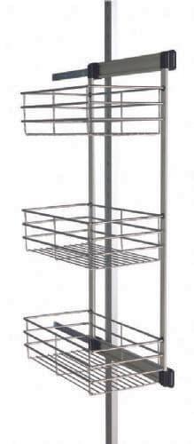 Aura Sliding Basket wardrobe interior storage system
