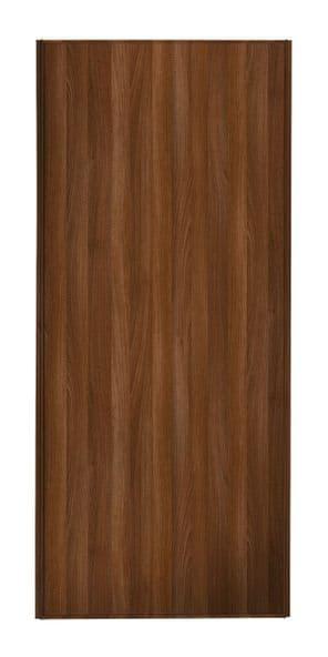 Classic Single panel, Walnut frame/ Walnut effect panel door
