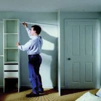 White End Panel - Installation Aids | World of Wardrobes