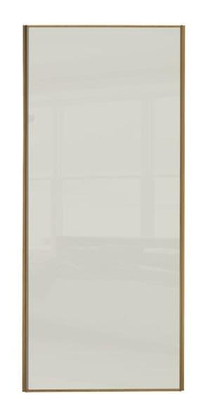 Heritage Oak frame, Soft white  door