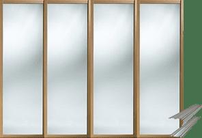 SHAKER SLIDING WARDROBE DOORS