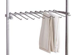 Trouser rack for Aura wardrobe system